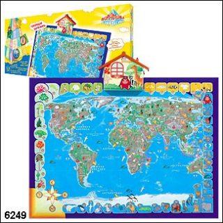 Говорящая карта мира / 23934 / Пирамида открытий