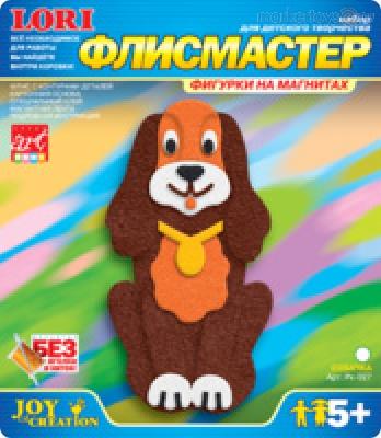 Аппликация из флиса Собачкка/10654/Фантазер