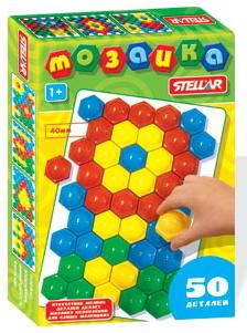 Мозаика 40мм, 50дет. /02376/Стеллар
