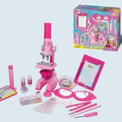 Микроскоп розовый /26291/Eastcolight