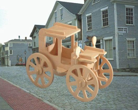 Авто Автомобиль Роллинг малый /01276/ Wooden Toy