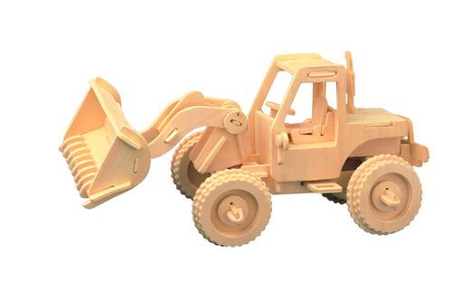 Авто Бульдозер/01288/ Wooden Toy