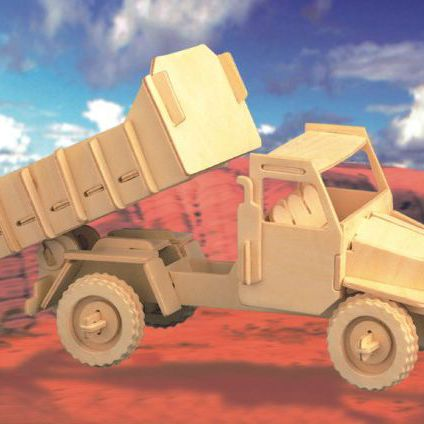 Авто Грузовик/01286/ Wooden Toy