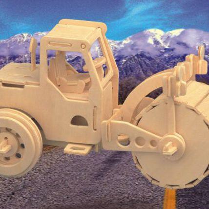 Авто Дорожный каток/01287/ Wooden Toy