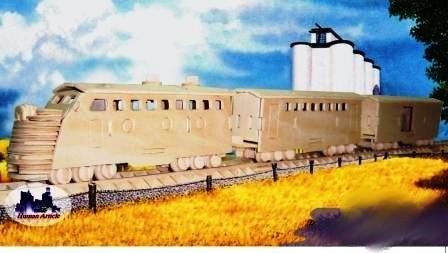 Авто Поезд/09884/ Wooden Toy