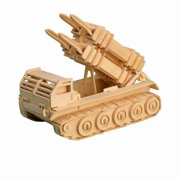 Авто Ракетная установка /01311/ Wooden Toy