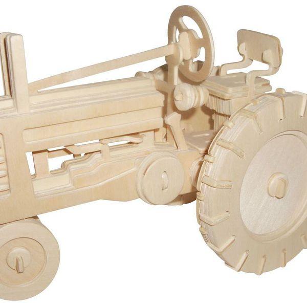 Авто Трактор Фермер/02014/ Wooden Toy