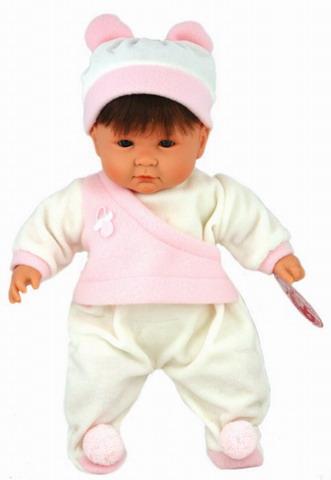 Кукла Тео брюнет(в розовом)  /21370/Antonio Juan
