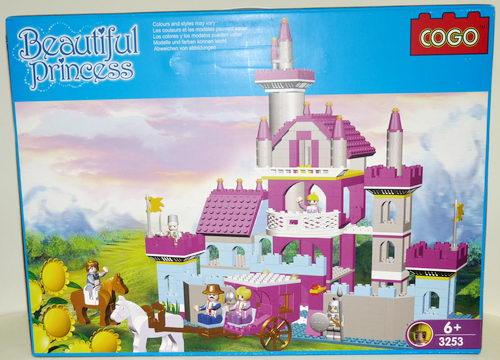 Конструктор для малышей Замок 569 дет/28470/СOGO