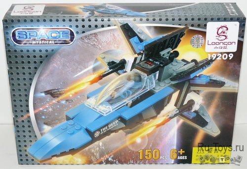 Конструктор для малышей Космический корабль 2, 150 дет/28538/СOGO