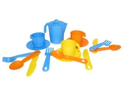 Набор детской посуды Анюта на 3 персоны/25608/Полесье