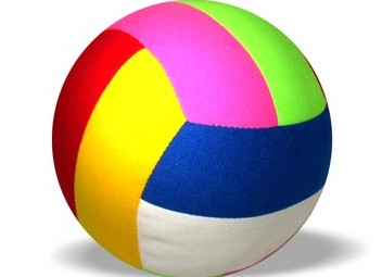 Мяч с погремушкой Шалун /00523/ Мякиши
