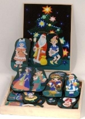 Вкладыши в коробке Новогодний карнавал