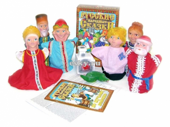 Кукольный театр По щучьему веленью/05849/РуСт