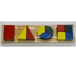 Дроби Геометрические фигуры/26625/РТ