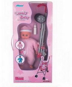 Коляска для кукол размер 40х26.5х55 см/31684/ РТ