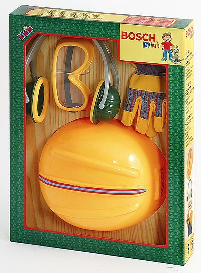 Bosсh каска, очки, перчатки, наушники /21320/Klein