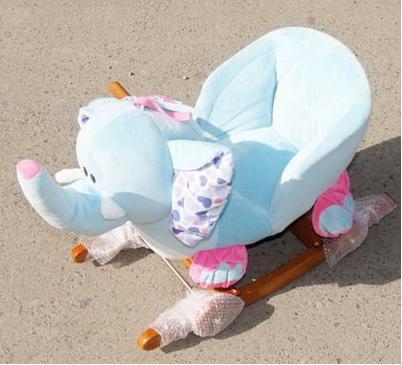 Качалка Слон голубой /30445/ РТ