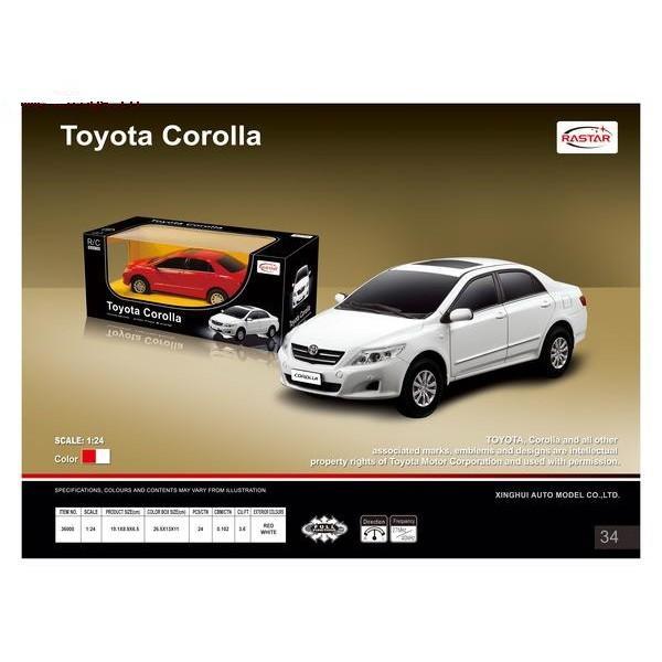 Машина радиоуправляемая  Toyota Corolla  /33298/RASTAR
