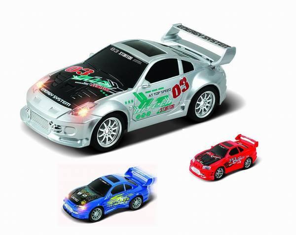 Машина радиоуправляемая  INTENSE SPEED RACER 3 вида /33318/RASTAR