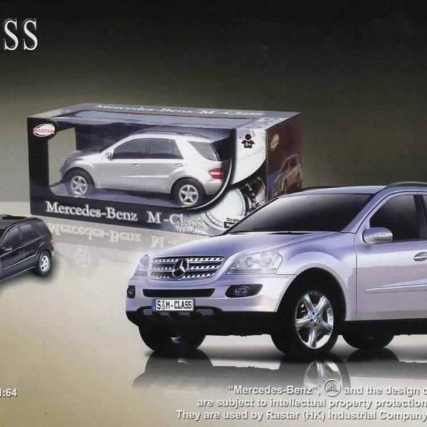 Машина радиоуправляемая  Mercedes - Benz ML CLASS с аккумулятором /33333/RASTAR