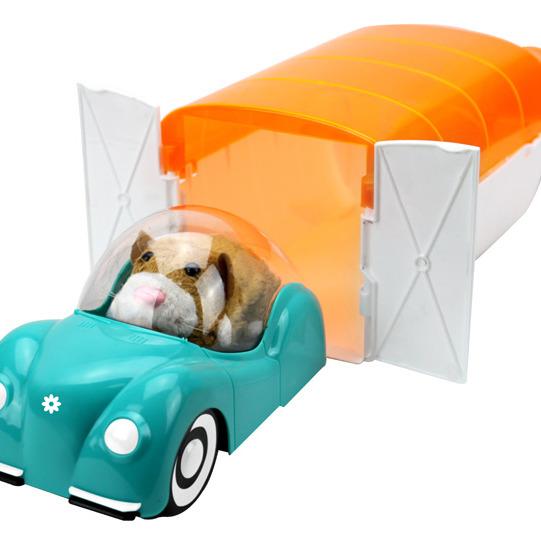 Шу - Шустрики набор аксессуаров гараж + машина /33479/ 1Toy