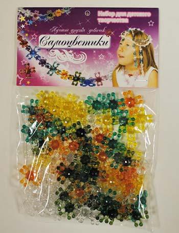 Самоцветики в пакете  /26689/ Биплан