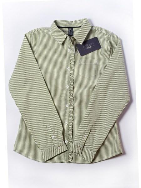 Рубашка дев. р. 164см, полоска