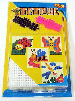 Мозаика-тетрис, 2000 деталей