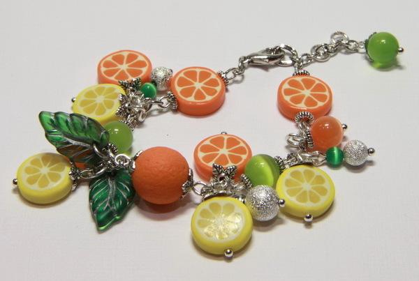 Бижутерия детская Апельсины