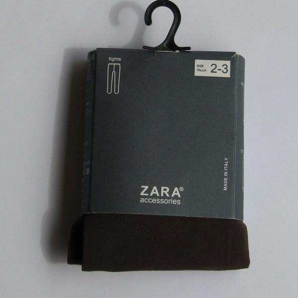 Колготки детские коричневые, Zara