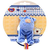 Мягкая игрушка-погремушка Котенок, Biba Toys