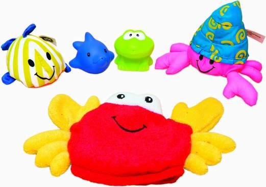 Набор для ванной Морские обитатели / BabyBaby