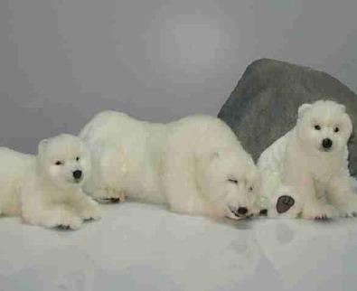 И/м Медведь полярный 43см /Hansa