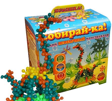 Конструктор Собирайка сундучок 40 эл. /31310/ Биплан