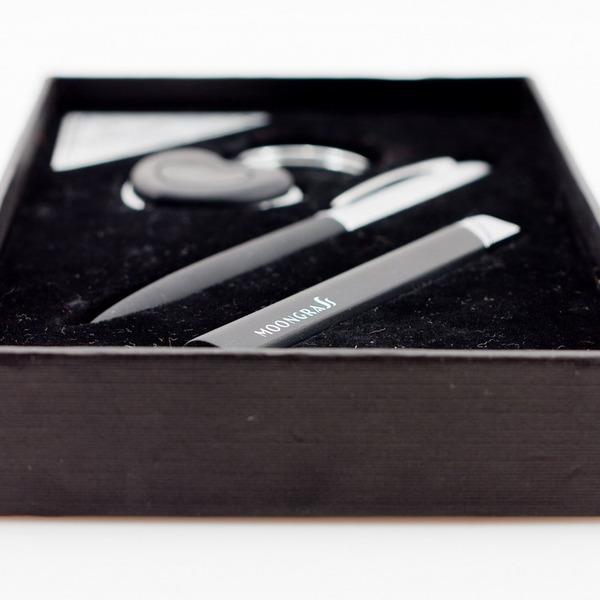 Набор подарочный Moongrass черный