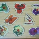 Вкладыши Овощи/ 16144/РТ