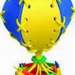 Шнуровка Воздушный шар /00752/ Тедико