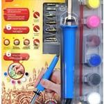 Набор QIDDYCOME Прибор для выжигания KR - 099 в комплекте с красками/10832/QIDDYCOME