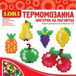 Фигурки на магнитах из термомозаики Фрукты /09979/ LORI