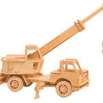 Авто кран/02013/ Wooden Toy