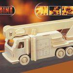 Авто Пожарная машина /01297/ Wooden Toy