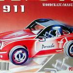 Авто Порше цветное /02018/ Wooden Toy