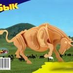 Животные Бык малый/09833/ Wooden Toy