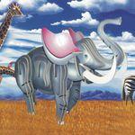 Животные Слон цветной/02011 Wooden Toy