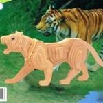Животные Тигр/11801/ Wooden Toy