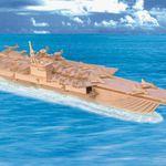 Корабли Авианосец/01309/ Wooden Toy