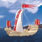 Корабли Ганзейский парусник /01397/ Wooden Toy