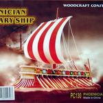 Корабли Финкийский парусник цвет /02661/ Wooden Toy