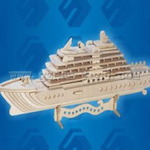 Корабли Яхта люкс /02799/ Wooden Toy